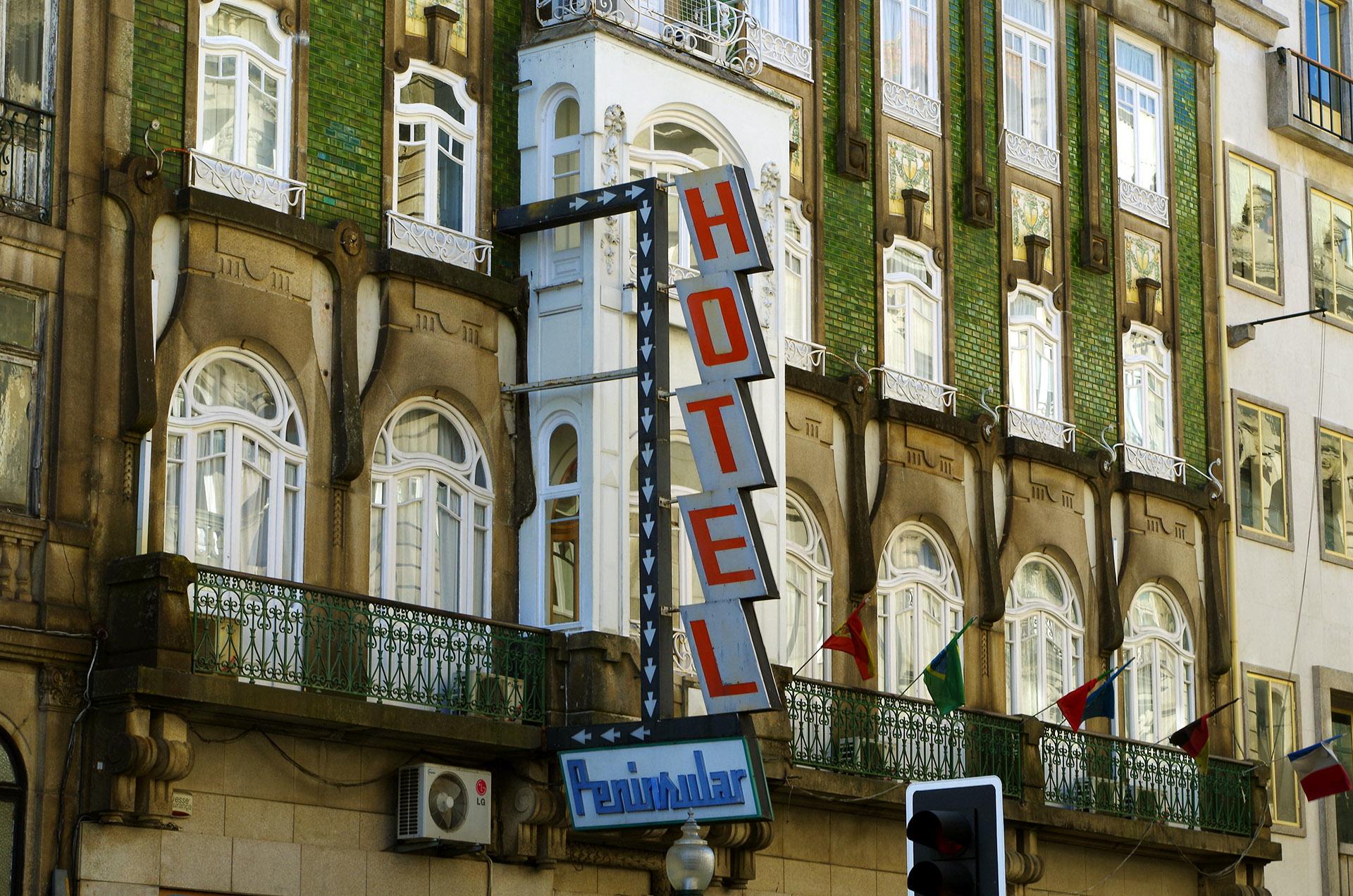 Rótulos de Hotel (Oporto)